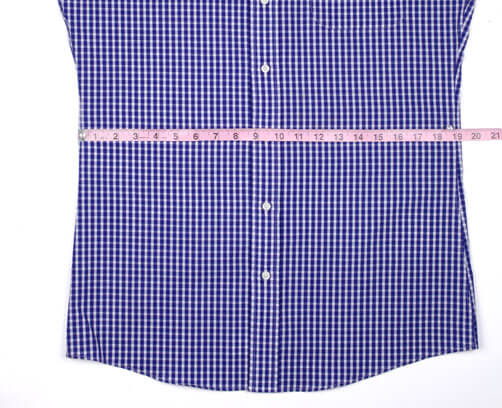 Waist Measurement Example from Start to End