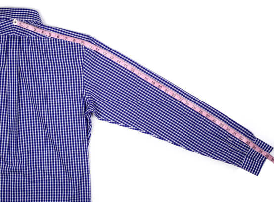 Sleeve Length Example from Start to End
