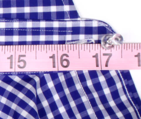 Collar Measurement Example End