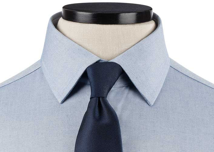Semi-Spread Collar